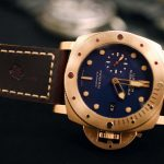 The Panerai Watches And Prices Replica PAM00671 Luminor Submersible 1950 3 Days Automatic Bronzo