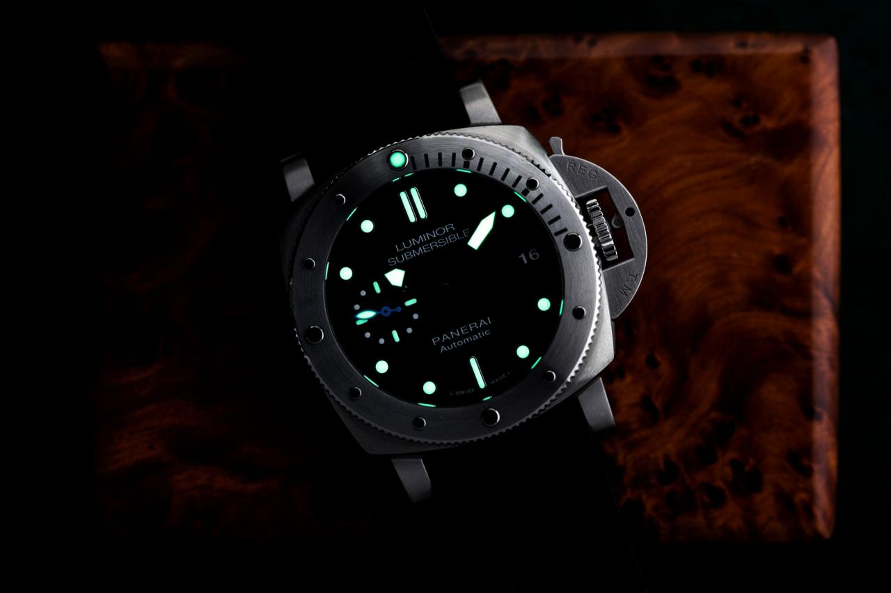 Panerai Luminor Submersible 1950 3 Days Automatic Acciaio 42mm lume