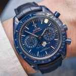 Omega Speedmaster 'Blue Side Of The Moon' Co-Axial Master Chronometer Chronograph Moonphase Watch Hands-On Hands-On