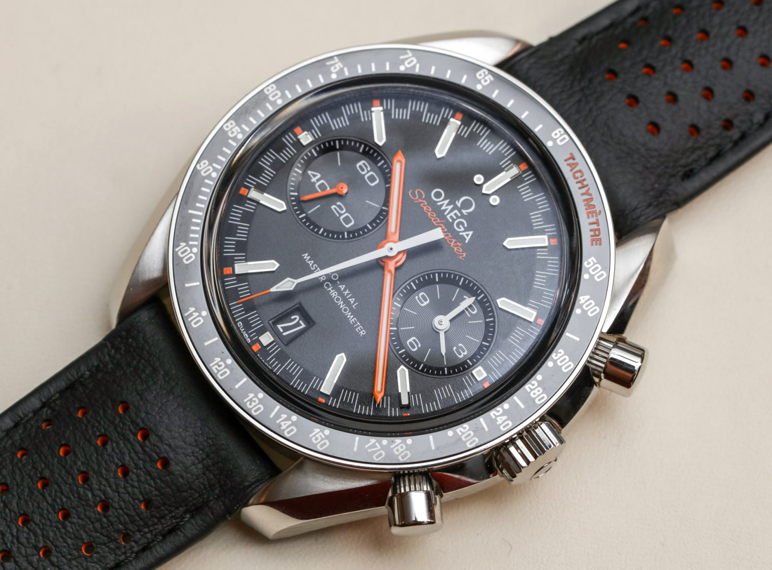 Omega Speedmaster Racing Co-Axial Master Chronometer Watches Hands-On Hands-On