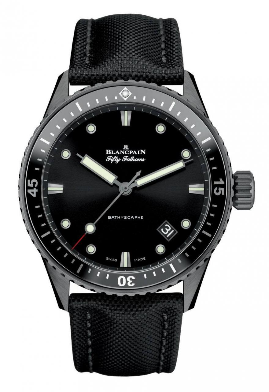 Diving Watches - Blancpain villeret watch price Replica Fifty Fathoms
