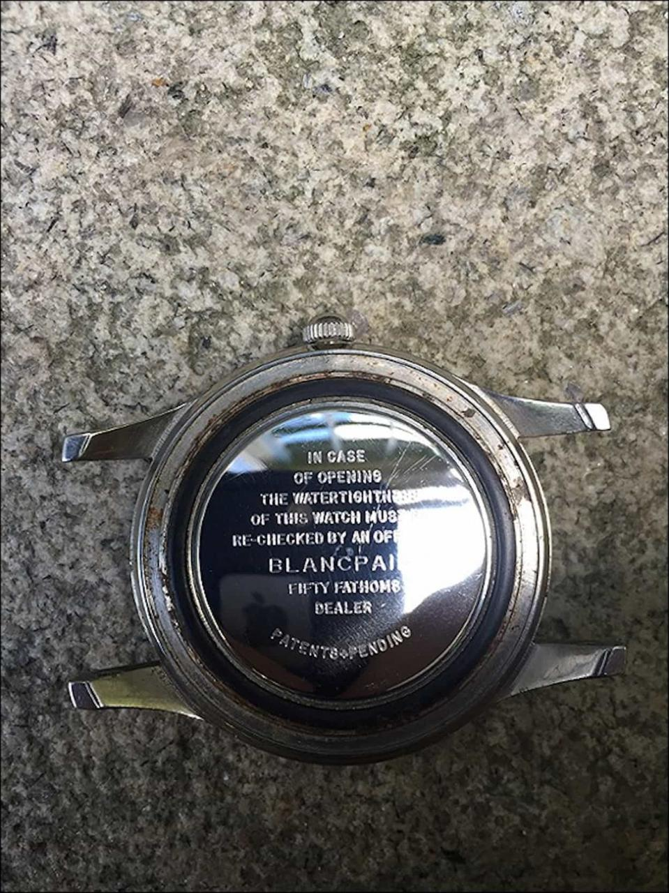 Blancpain Fifty Fathoms dust cover