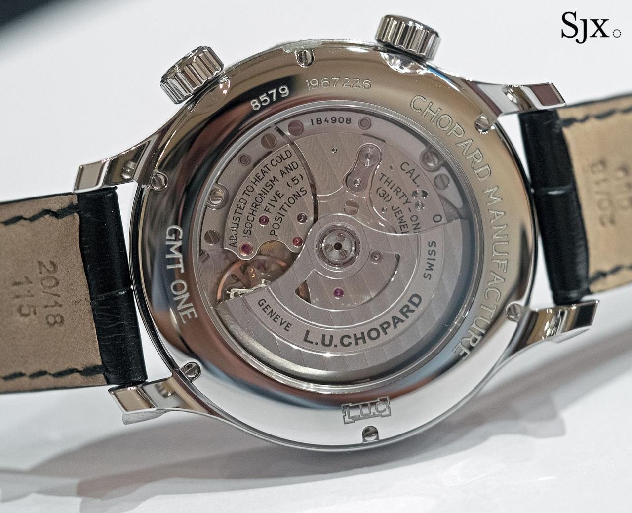Chopard L.U.C GMT One steel 3