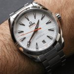Omega Seamaster Aqua Terra 150M Co-Axial Master Chronometer Watch Review Wrist Time Reviews