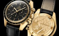 Omega Speedmaster Moonwatch Professional Chronograph Starmus Science Award Gold Watch Watch Releases